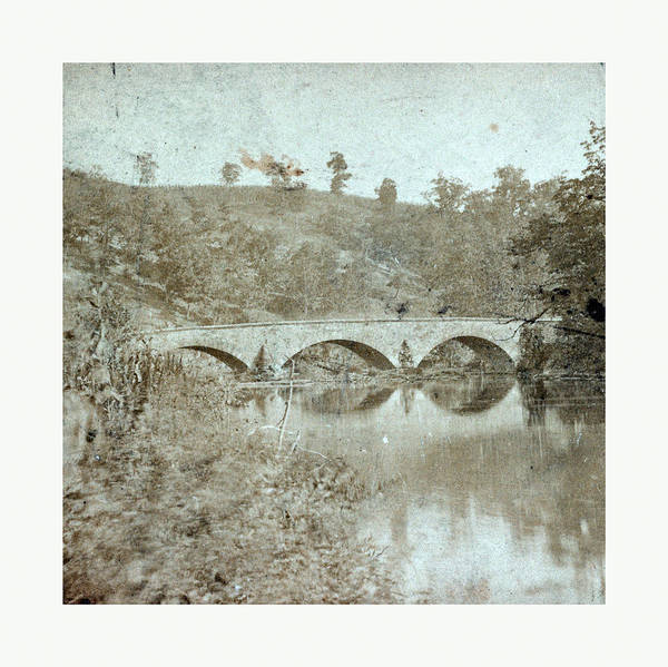 Antietam Photograph - American Civil War Antietam Bridge, On Sharpsburgh by American School