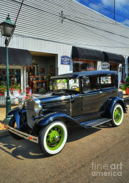 Photograph - American Classic Car by Mel Steinhauer