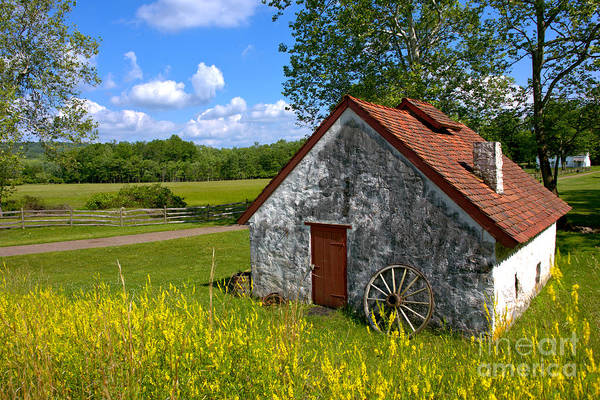 Farmhouse Photograph - American Country Farmhouse by Olivier Le Queinec