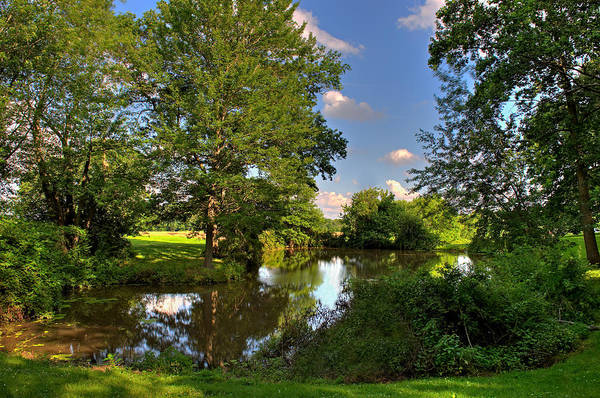 Photograph - American Farm Pond by William Jobes