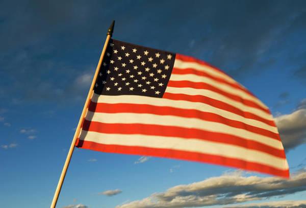 Usa Flag Photograph - American Flag by Christian Aslund