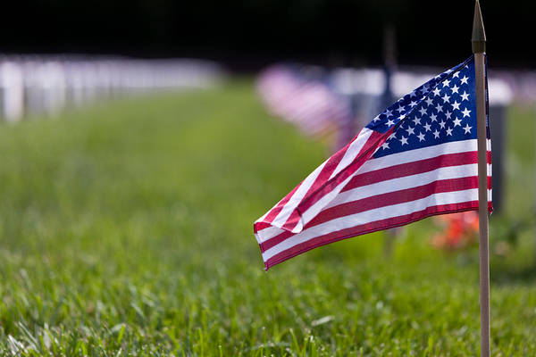 Photograph - American Flag by Jerry Gammon