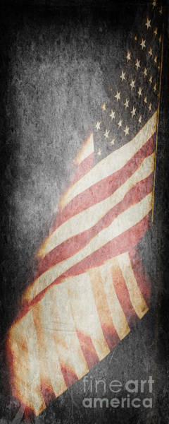 Photograph - American Flag by Pam  Holdsworth