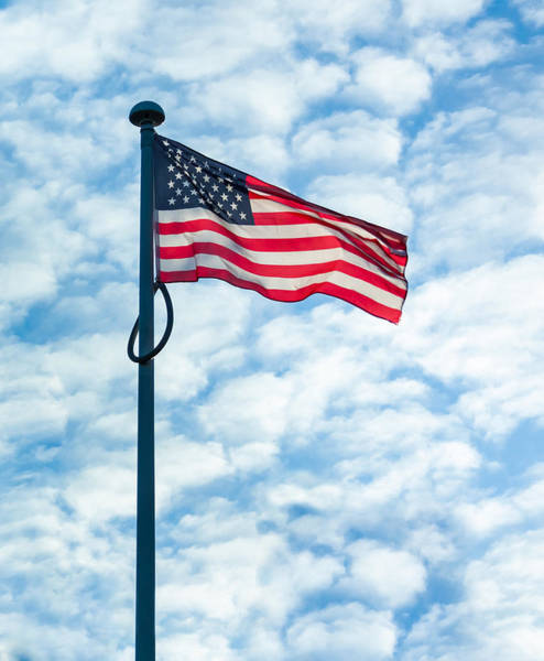 Wall Art - Photograph - American Flag by Semmick Photo