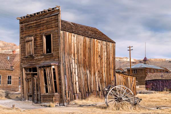 Bishop Hill Photograph - American Ghost Town Bodie by Kathleen Bishop