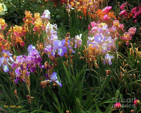 Painting - American Giverny by RC DeWinter