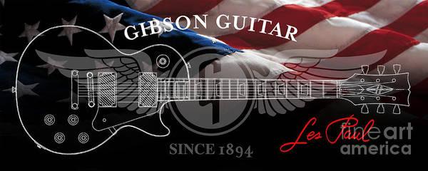Guitar Neck Photograph - American Legend by Jon Neidert