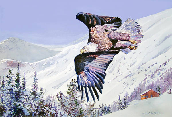 Painting - American Majesty  by David Lloyd Glover