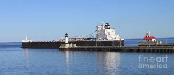 Wall Art - Photograph - American Mariner Ship by Lori Tordsen