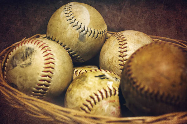 Softball Photograph - American Pastime  by Heather Applegate