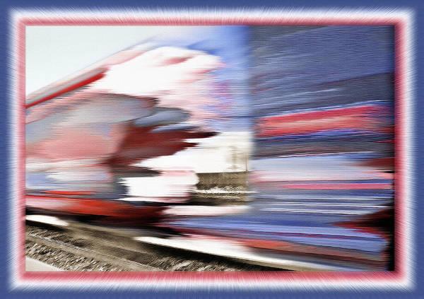 Wall Art - Photograph - American Rail by Steve Ohlsen