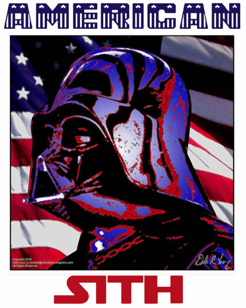 Digital Art - American Sith by Dale Loos Jr