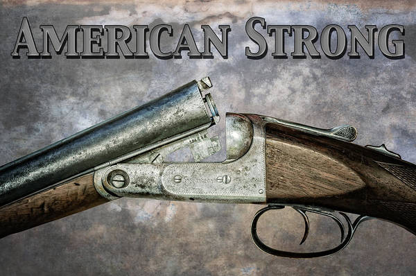 Photograph - American Strong by Andy Crawford