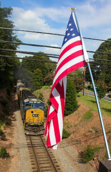 Wall Art - Photograph - American Train 2 by Joseph C Hinson