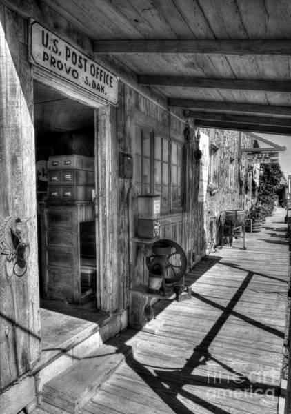 Photograph - American Wild West 2 Bw by Mel Steinhauer