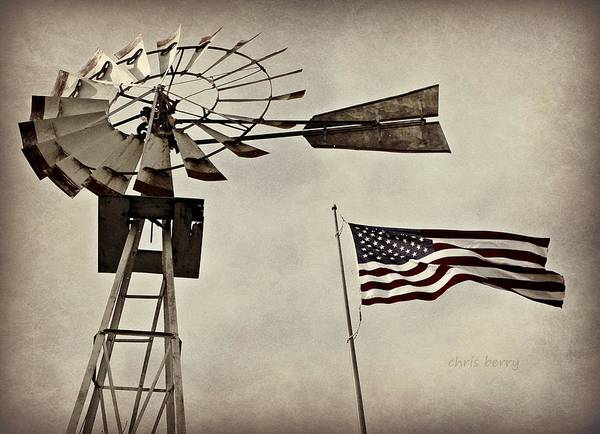 Wall Art - Photograph - Americana by Chris Berry