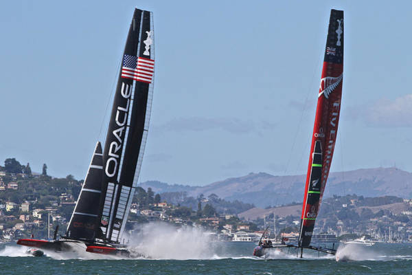 Photograph - America's Cup 2013 by Steven Lapkin
