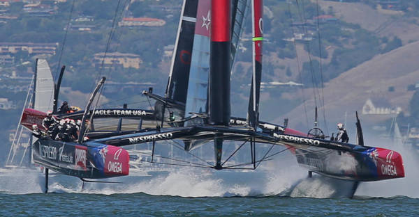 Oracle Wall Art - Photograph - America's Cup San Francisco by Steven Lapkin