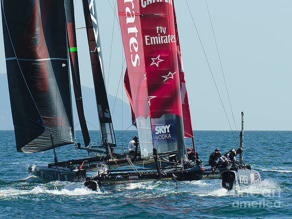 Americas Cup Photograph - America's Cup by Giovanni Chianese