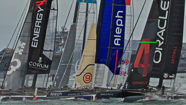 Ac45 Photograph - America's Cup World Series San Diego by Steven Lapkin
