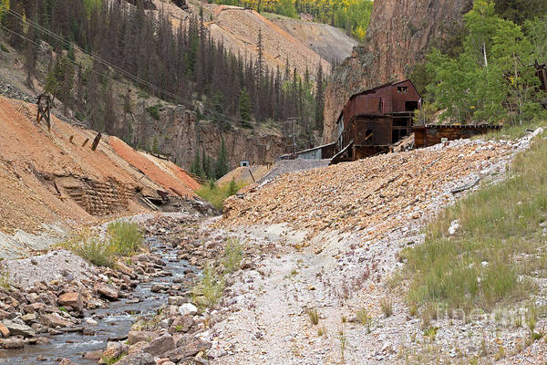 Photograph - Amethyst Mine On The Bachelor Historic Tour by Fred Stearns