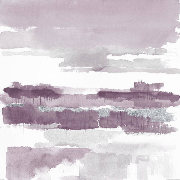 Neutral Painting - Amethyst Wetlands by Mike Schick