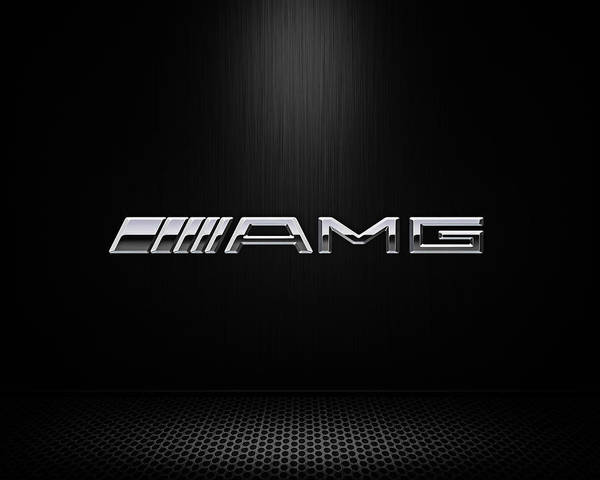 Germany Wall Art - Digital Art - Amg Center Stage by Douglas Pittman