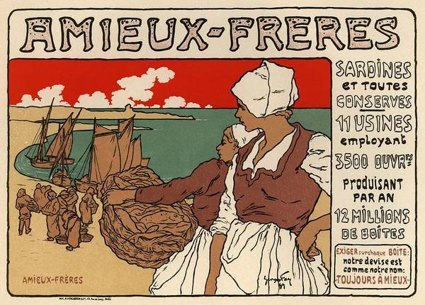Belle Epoque Photograph - Amieux Freres by Gianfranco Weiss