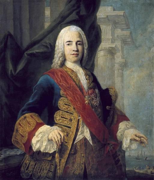 Ensenada Photograph - Amigoni, Jacopo 1682-1752. The Marques by Everett
