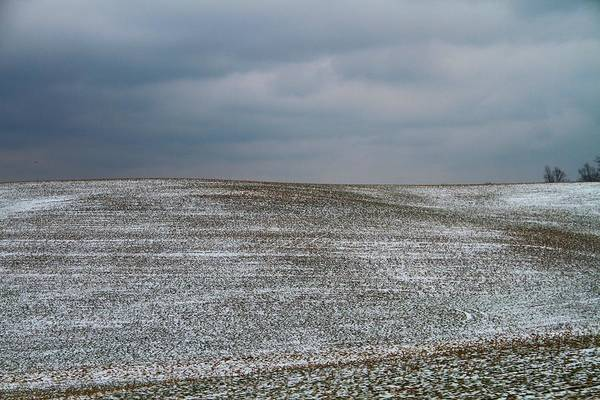 Berlin Ohio Photograph - Amish Country In Winter by Dan Sproul