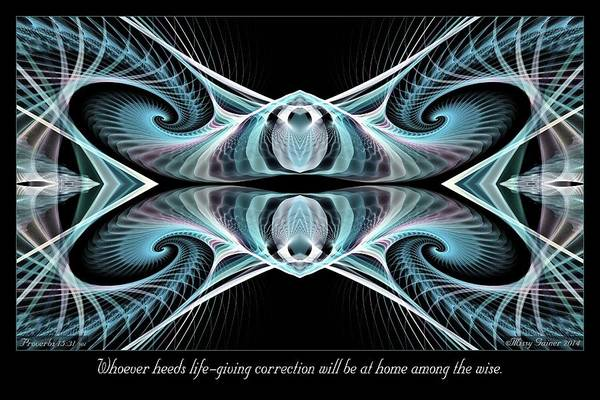 Digital Art - Among The Wise by Missy Gainer