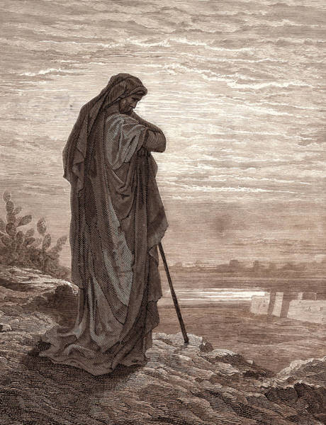 Dor Drawing - Amos The Prophet, By Gustave DorÉ. Dore by Litz Collection