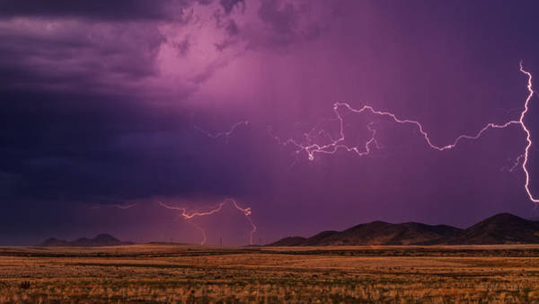 Monsoon Photograph - Amped Up by Medicine Tree Studios