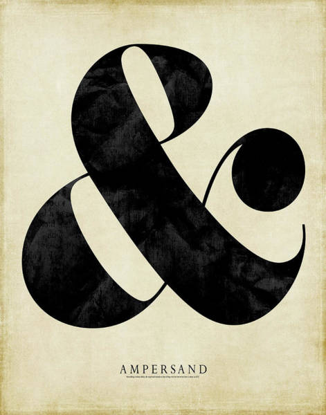 Wall Art - Painting - Ampersand Cream by Amy Cummings