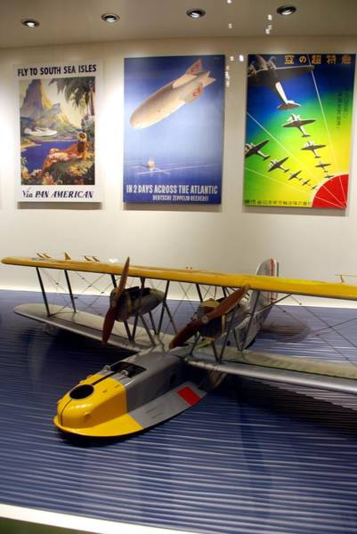 Amphibious Plane And Era Posters Art Print
