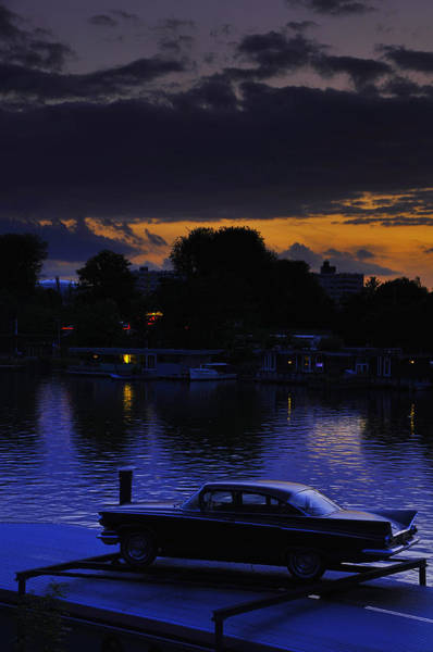 Holland Wall Art - Photograph - Amstel River Sunset by Aaron Bedell