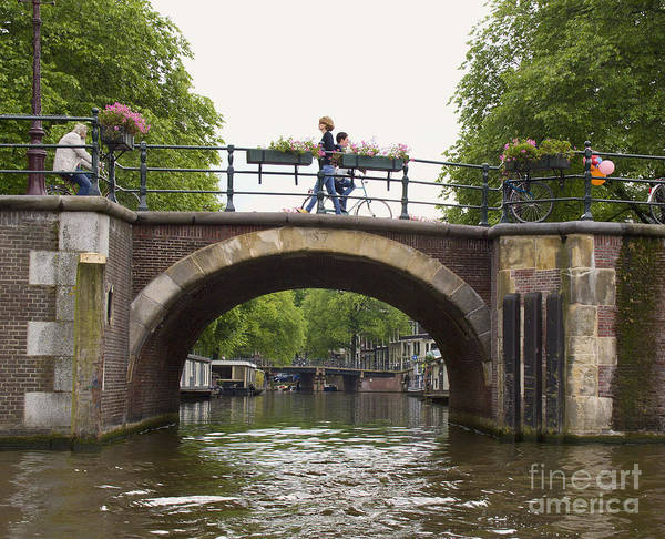 Photograph - Amsterdam Arch Bridge by Crystal Nederman