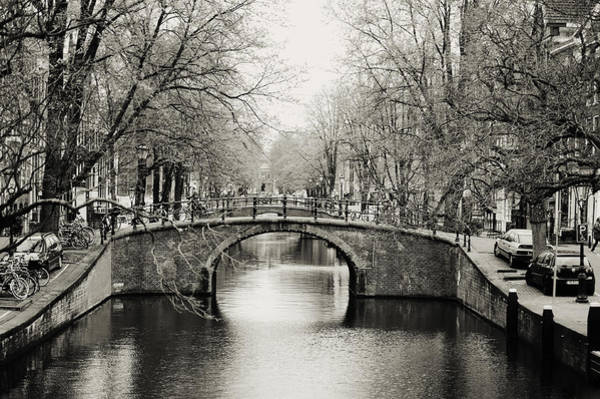 Photograph - Amsterdam Canal by Jenny Rainbow