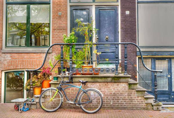 Photograph - Amsterdam Facade by Uri Baruch