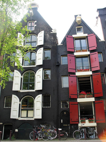 Photograph - Amsterdam Homes by Gerry Bates