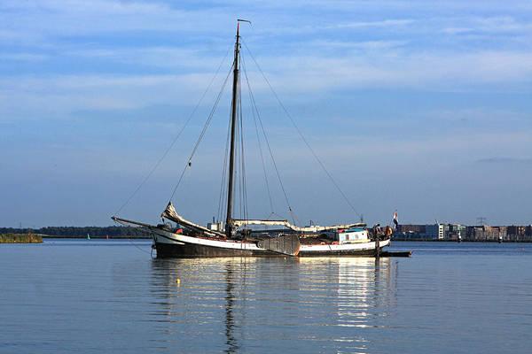 Houseboat Photograph - Amsterdam Houseboat by Aidan Moran