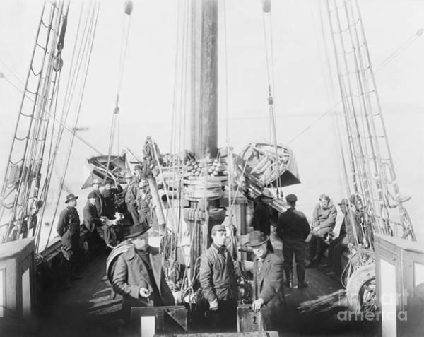 Member Of Congress Wall Art - Photograph - Amundsen's Gjoa Expedition, 1906 by Library Of Congress