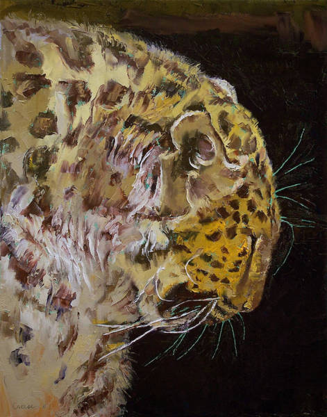 Wall Art - Painting - Amur Leopard by Michael Creese
