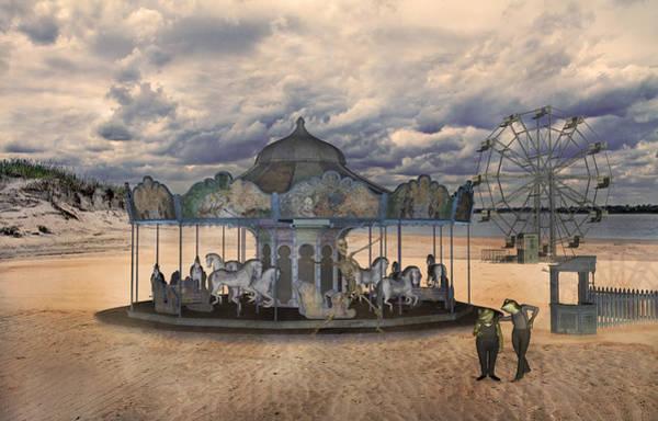 Dune Mixed Media - Amusement  by Betsy Knapp