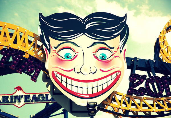 Wall Art - Photograph - Amusement Smile by Valentino Visentini