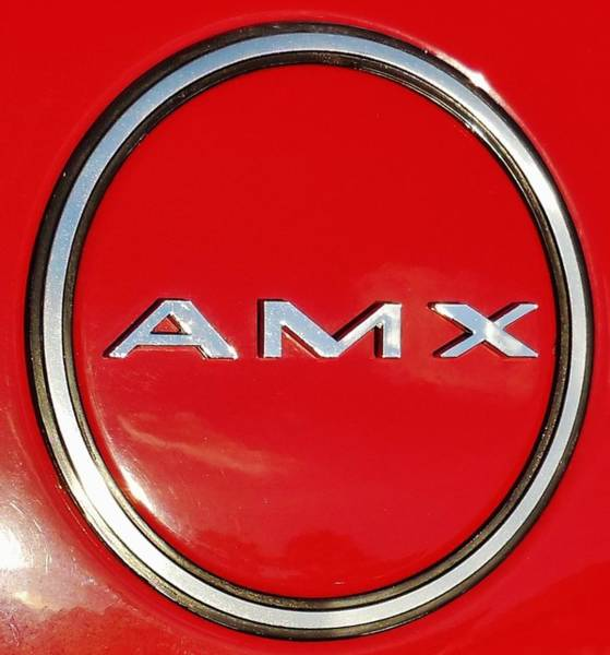 Plymouth Superbird Photograph - AMX by Mark Lemmon