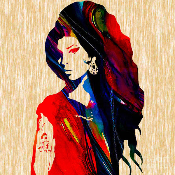 Wall Art - Mixed Media - Amy Winehouse Collection by Marvin Blaine