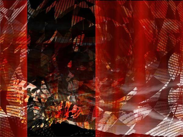 Digital Art - An Abstract Butterfly by Art Di