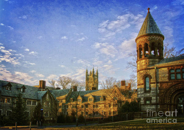 Photograph - An Afternoon At Princeton by Debra Fedchin
