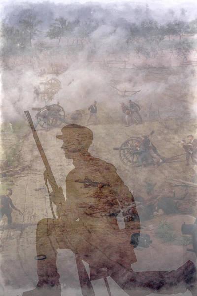 Artillery Digital Art - An Afternoon In Gettysburg July 1863 by Randy Steele